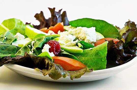 Mischkostmahlzeit bei der Precon Diä: Salat